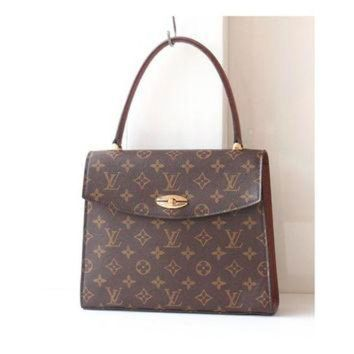 PEAPYD9 Louis Vuitton Monogram Malesherbes Kelly handbag Authentic Vintage bag purse