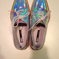 Miista Zoe Hologram Oxford Miista 8.5 by E T