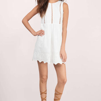 By Your Side Shift Dress