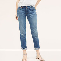 Relaxed Skinny Jeans in Marine Blue Wash