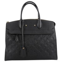 Louis Vuitton Pont Neuf Handbag Monogram Empreinte Leather GM