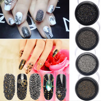 New Arrivals 5000Pcs Box Wizard Beads Crystal Sand Nail Rhinestones Tiny Nail Beads Fingernails Rhinestone For Nails Accessories