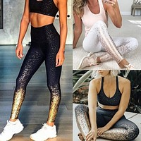 Women Sporting Leggings High Waist Fitness Running Clothing