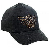 Black Legend of Zelda Flex Fit Hat