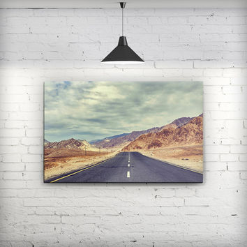 Desert Road - Fine-Art Wall Canvas Prints