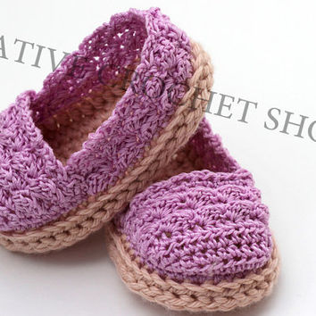 Baby & Toddler Girl Espadrilles (Crochet baby shoes, Gender reveal photos, Baby shower gift, Baby blessing, Summer shoes, First birthday)