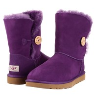 NIB UGG AUSTRALIA BAILEY BUTTON WOMENS BOOTS SHOES BOYSENBERRY PURPLE 6 7 8 9 10