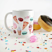 "Everyday is a Holiday — ""Fave Craves"" mug"