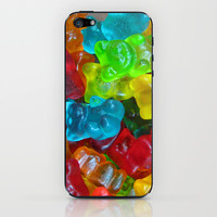 Gummy Bears iPhone & iPod Skin by Ornaart