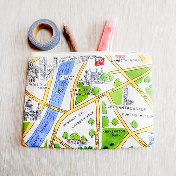 Make Up Bag/ Gift for Women/ Pencil Case/ Girlfriend Gift/ Travel Gift/ Teacher Gift/ Graduation Gift/ Gift for mom/ Best Friend Gift/ Pouch