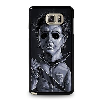 MICHAEL MYERS HALLOWEEN ART Samsung Galaxy Note 4 Case Cover