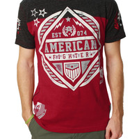 American Fighter Men's Fort Valley Short Sleeve Graphic T-Shirt