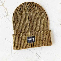 Stussy Stock Plated Beanie- Mustard One