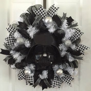 Reserved for Chris,Darth Vader Wreath,Star Wars Wreath,Darth Vader,Star Wars,Darth Vader gift,Star Wars gift,Darth Vader Decor