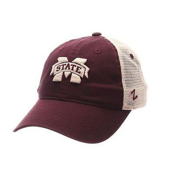 897cbd707a0 Licensed Mississippi State Bulldogs Official NCAA University Adjustable Hat  Cap by Zephyr KO 19 1
