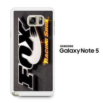 Fox Racing Shox Samsung Galaxy Note 5 Case