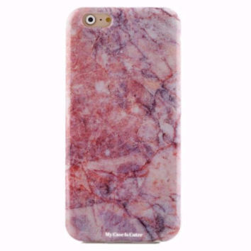 Pink Marble iPhone 6  6Plus Soft Case Cover