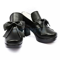 Black Butler Ciel Phantomhive high heel Cosplay Shoes Halloween Boots