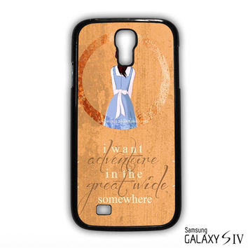 Beauty And The Beast Quote for phone case Samsung Galaxy S3,S4,S5,S6,S6 Edge,S6 Edge Plus phone case