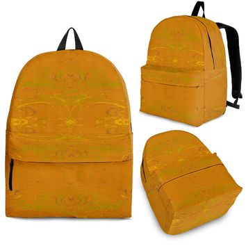 Yellow Glimmer Enhanced Design - Backpacks