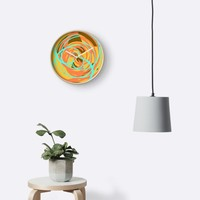 'Intersections' Clock by Kerry-Symetria