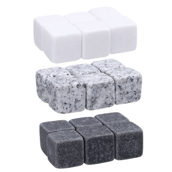 6pc Set 100% Natural Whiskey Stones Sipping Ice Cube Whisky Stone Whisky Rock Cooler Wedding Gift Favor