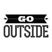 Go Outside - Office Quote Wall Decals