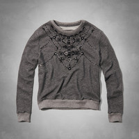 Meredish Embellished Sweatshirt