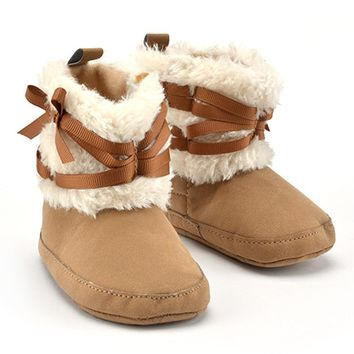 Kids Newborns Booties Winter Baby Shoes Boots For Girls Kids Warm Shoes Boots Baby Boy