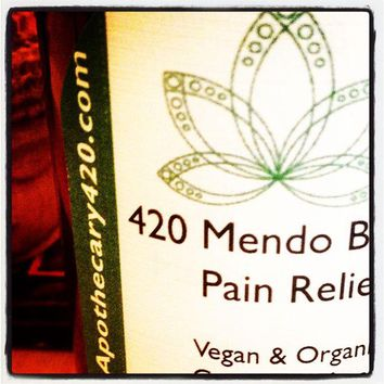 420 Mendo Blendo Hemp Pain Relief Lotion / Calming Lavender 800 MG