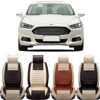 Special Leather car seat cover focu s M ondeo Kuga Explorer EcoBoost EcoSport ESCORT accessories