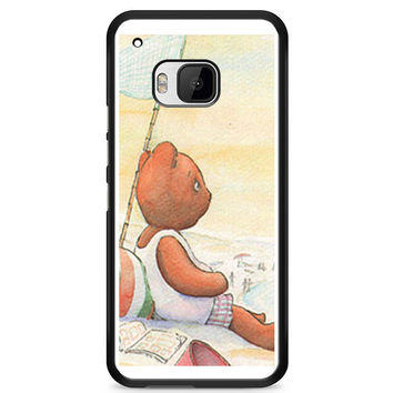 Little Teddy Bear in Beach Art Htc M9 Case