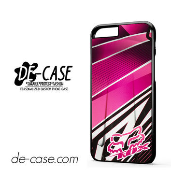 Fox Pink Motocross For Iphone 6 Iphone 6S Iphone 6 Plus Iphone 6S Plus Case Phone Case Gift Present