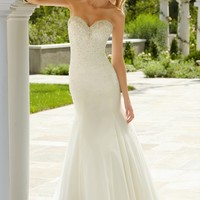 Voyage by Mori Lee 6744 Mermaid Wedding Dress