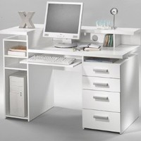 Tvilum 8012549 Whitman Desk, White