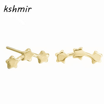 kshmir Stud earrings accessories The minimalist stars getting earrings small sweet contracted fashion earrings