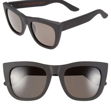 Women's SUPER by RETROSUPERFUTURE 'Gals' 50mm Retro Sunglasses - Matte Black