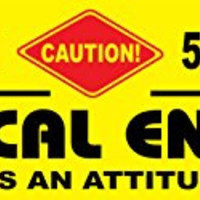 Electrical Engineer Occupational Novelty Attitude Sign