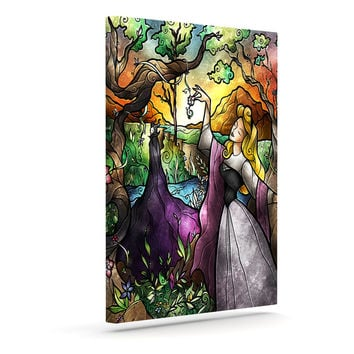 "Mandie Manzano ""I Know You"" Fairytale Forest Canvas Art"
