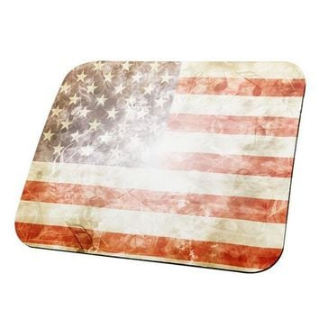 PEAPGQ9 4th of July American Flag Star Spangled Banner All Over Mouse Pad