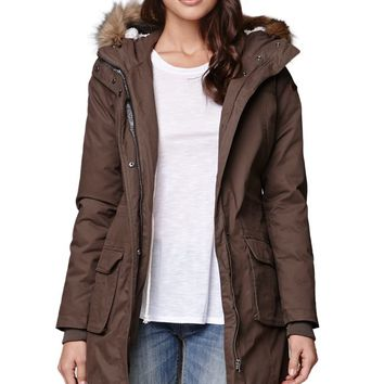 Roxy Road Trip Holiday Jacket - Womens Jacket - Brown