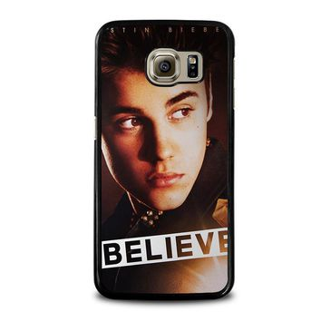justin bieber samsung galaxy s6 case cover  number 1
