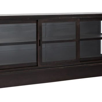 Paris TV Cabinet, Black, Media & TV