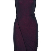 McQ Alexander McQueen | Mesh and jersey dress | NET-A-PORTER.COM