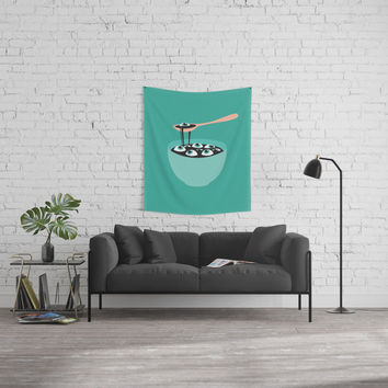 Cooking: See you Soup Wall Tapestry by trash-id