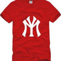 Baseball New York YMCMB NY steatwear hiphop brand children t shirts boys t shirt all for children clothing and accessories DC685