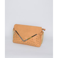 Studded Envelope Clutch - Handbags - Accessories