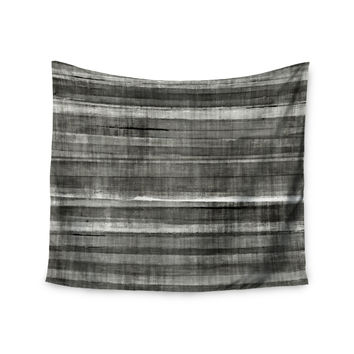 "CarolLynn Tice ""Grey Accent"" Dark Neutral Wall Tapestry"