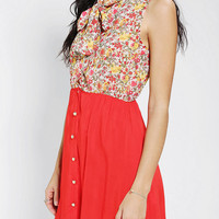 Urban Outfitters - One & Only X Urban Renewal Neck Tie Dress