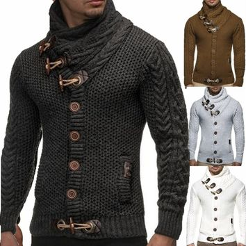 Men's Sweater Knitted Cardigan
